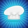 Векторный клипарт: Шеф-повар шляпа