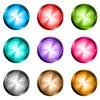 Векторный клипарт: Набор кнопок