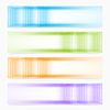 Векторный клипарт: Абстрактный вектор красочные баннеры