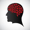 Векторный клипарт: Сердце ум