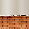 Векторный клипарт: кирпичная стена