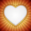 Векторный клипарт: Фон с форме сердца