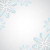 Векторный клипарт: Фон со снежинкой