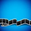 Film reel background | Stock Vector Graphics