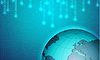 Векторный клипарт: Двоичной фон с планеты