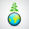 녹색 지구 | Stock Vector Graphics