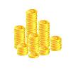 Золотые монеты | Векторный клипарт