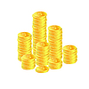 Złote monety | Stock Vector Graphics