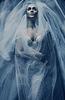 Art dark woman in veil | Stock Foto