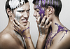 ID 4768638 | Erwachsene Männer in Silber und Violett Farbe | Foto mit hoher Auflösung | CLIPARTO