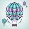 ID 4541948 | Heißluftballon | Stock Vektorgrafik | CLIPARTO
