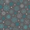 Nahtloses Winter-Muster mit Schneeflocken