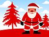 Set über Weihnachten Gedanken Weihnachten Design