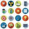 Energie-Vektor-Icon-