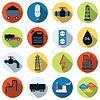 Energie-Vektor-Icons