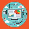 Finanzen und Business-Analyse-Konzept