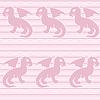 Baby-Drachen nahtlose Muster