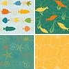 Векторный клипарт: Море модели жизни коллекция