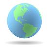 Erde-Globus