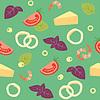 Pizza Meeresfrüchte (Pizza ai frutti di mare) Zutaten