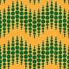 Nahtlose geometrische Muster. Vertikale wellenförmige Punkte.