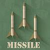 Grunge-Raketen Symbol Hintergrund Konzept. desi