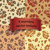 4 seamless texture | Stock Vector Graphics