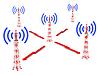 ID 4686749 | Wieże telekomunikacyjne | Stockowa ilustracja wysokiej rozdzielczości | KLIPARTO
