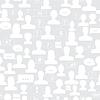 Nahtlose Muster von Avataren und Sprechblasen