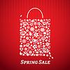 Einkaufstasche für Spring Sale