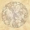 Grunge abstrakte Wein, Liebe Design