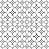 abstrakte Umrisse nahtlose Muster