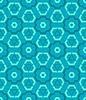 cyan-blaue blaue grüne Farbe abstrakte geometrische nahtlose