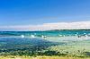 退潮时的游艇停泊 | 免版税照片