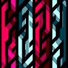 vintage Kristall geometrische nahtlose Muster