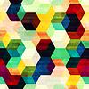 vintage Raute nahtlose Muster mit Grunge-Effekt