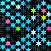 abstrakt blau Grunge Sterne nahtlose