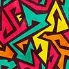 밝은 형상 원활한 패턴 | Stock Vector Graphics