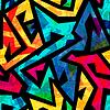 hellen geometrischen nahtlose Textur mit Grunge-Effekt