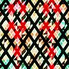 Diamant nahtlose Muster mit Grunge-Effekt