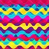 psychedelische Welle nahtlose Muster