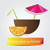 Orange Frucht-Cocktail