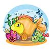 glücklich goldfish