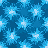 Scratchy blue blot seamless pattern | Stock Vector Graphics