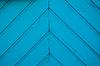 Winkel blauen Streifen aus Holz | Stock Foto