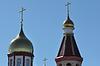 Architektonische Elemente der orthodoxen Kirche | Stock Foto