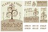 Arbor Day Set Poster, Karten, Flyer und Banner