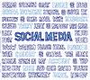 Hand Written Social Media Wörter, Tags und Labels o