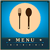 Restaurant Menu Card Design-Vorlage