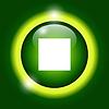 Glossy Multimedia-Symbol Stopp